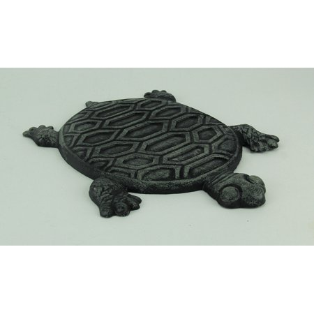 Cast Iron Turtle Garden Stepping Stone Step Tile (Stone County Iron Works)