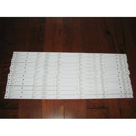 Waves Parts Compatible Westinghouse DWM55F1G1 LED Strip Set (12) TFMT55D06-ZC21FG-03 Replacement (Z Wave Led)
