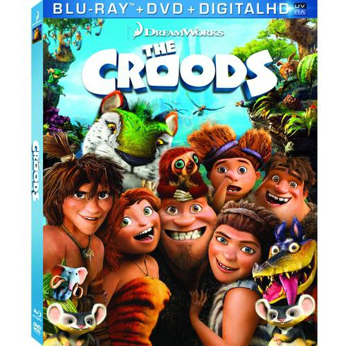 The Croods (Blu-ray + DVD + Digital HD) (With INSTAWATCH) (Widescreen)