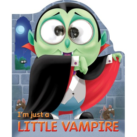 I'm Just a Little Vampire (None) (Board Book) - Seventeen Joshua Halloween
