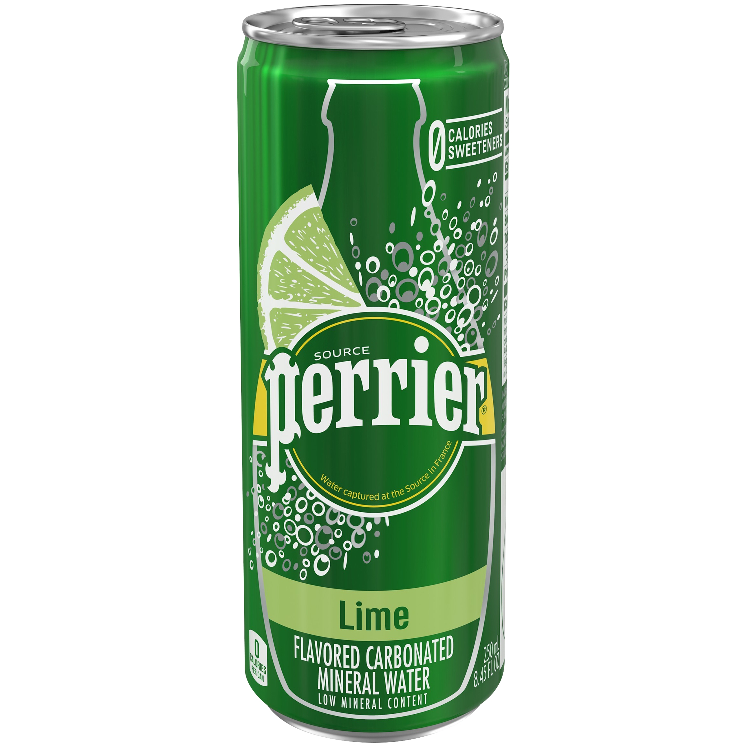Perrier Lime Sparkling Natural Mineral Water, 8.45 Fl. Oz.