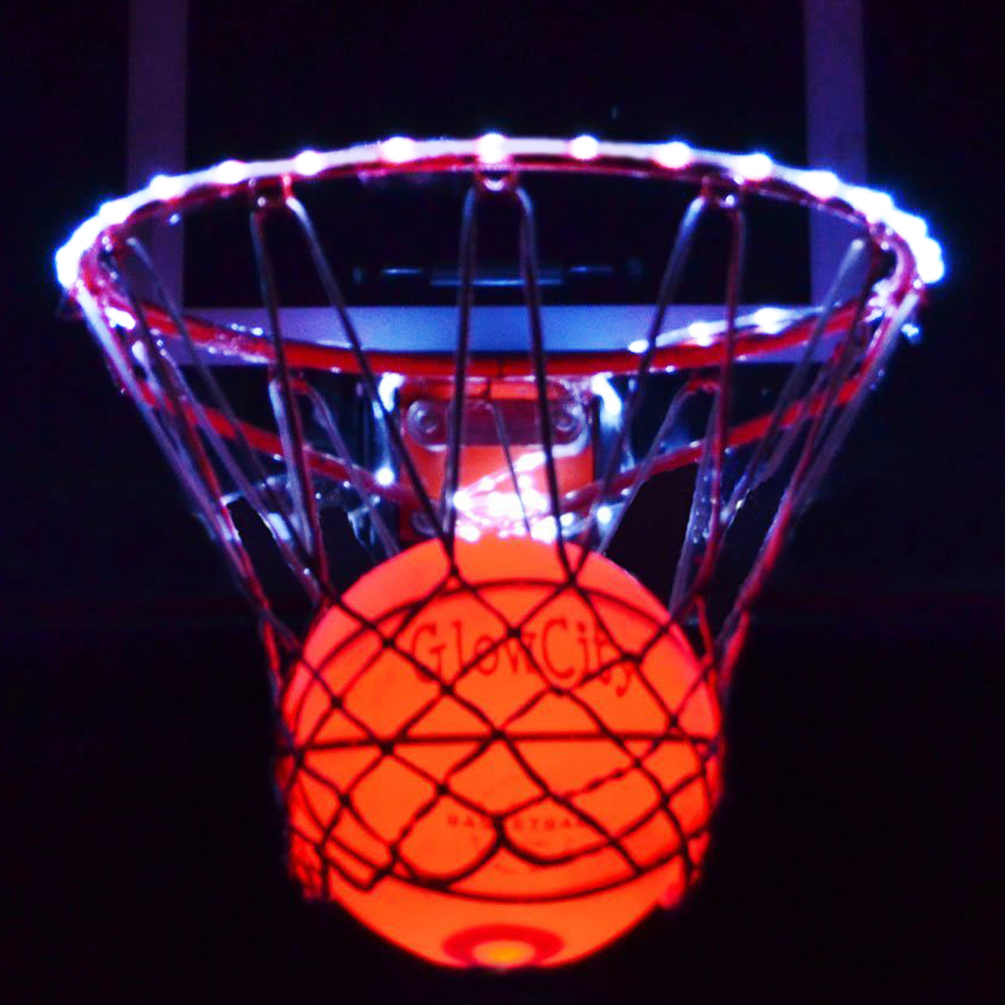 GlowCity Ultra Bright LED Basketball With Glow In The Dar...