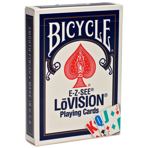 United States Playing Cards E-Z See LoVision Playing Cards