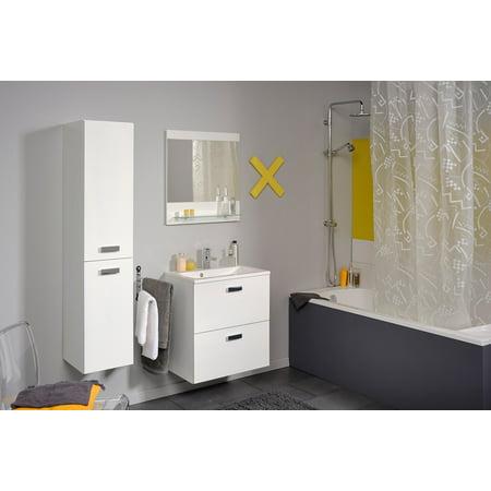 Studio Ii 24 Bathroom Vanity Set With Ceramic Sink And Wall Mirror