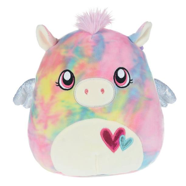 Squishmallows Paisley The Pegacorn 8 Inch Plush Toy Soft Stuffed Animal Pillow Pink Tie Dye Walmart Com Walmart Com