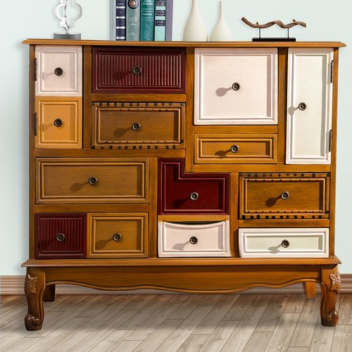 August Grove Ailbe 9 Drawer Accent Cabinet