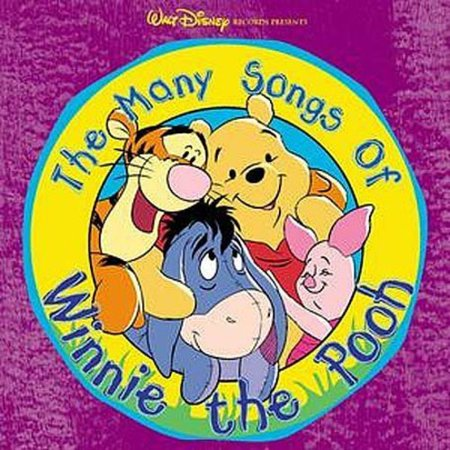 Many Songs of Winnie the Pooh / Various (CD) - Winnie The Pooh Halloween Cd
