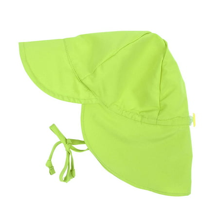 Leveret Kids Baby Boys Girls Sun Protection Swim Flap Hat Green Size 9-18 Months](Baby Blue Top Hat)