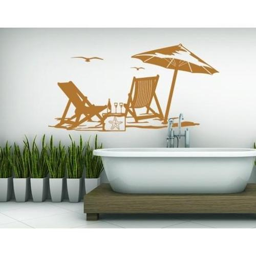 Summertime Wall Decal 47in x 24in Light pink