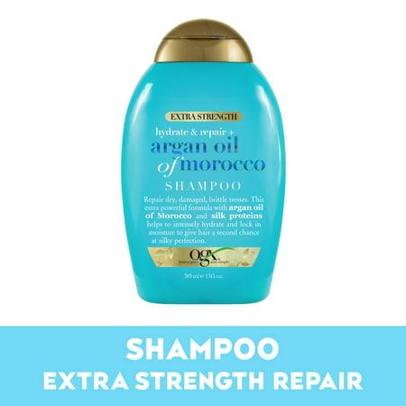 OGX® Hydrate + Repair Argan Oil of Morocco Extra Strength Shampoo, 13 FL OZ