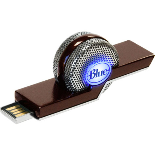 Blue Microphones TIKI Microphone - 40 Hz to 20 kHz - Plug-in - Condenser - Detachable - USB