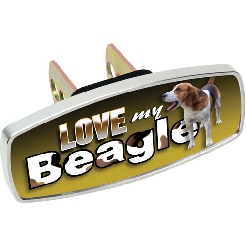 HitchMate Premier Series HitchCap, Love My Beagle