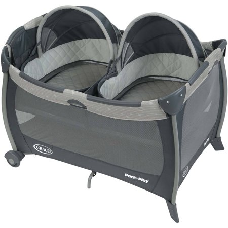 Graco Pack 'n Play Playard with Twins Bassinet, Stars ...