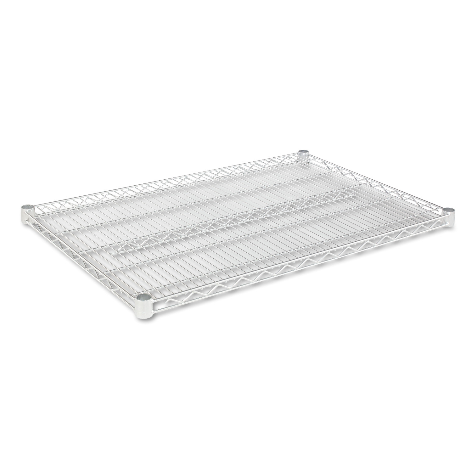 "Alera Industrial Wire Shelving Extra Wire Shelves, 36""W x 24""D, 2 Shelves Per Carton, Available in Silver or Black"