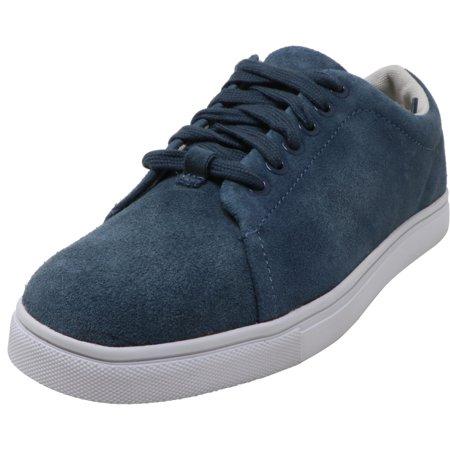 Calvin Klein Men's Holt Split Leather Midnight Ankle-High Sneaker - 7.5M