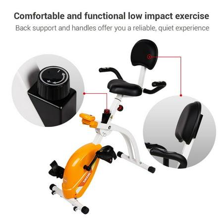 Loctek U1 Under Desk Bike Upright Stationary Foldable Exercise Bike