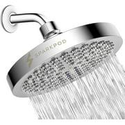 "Best Shower Heads - SparkPod 6"" Shower Head High Pressure Rain Luxury Review"