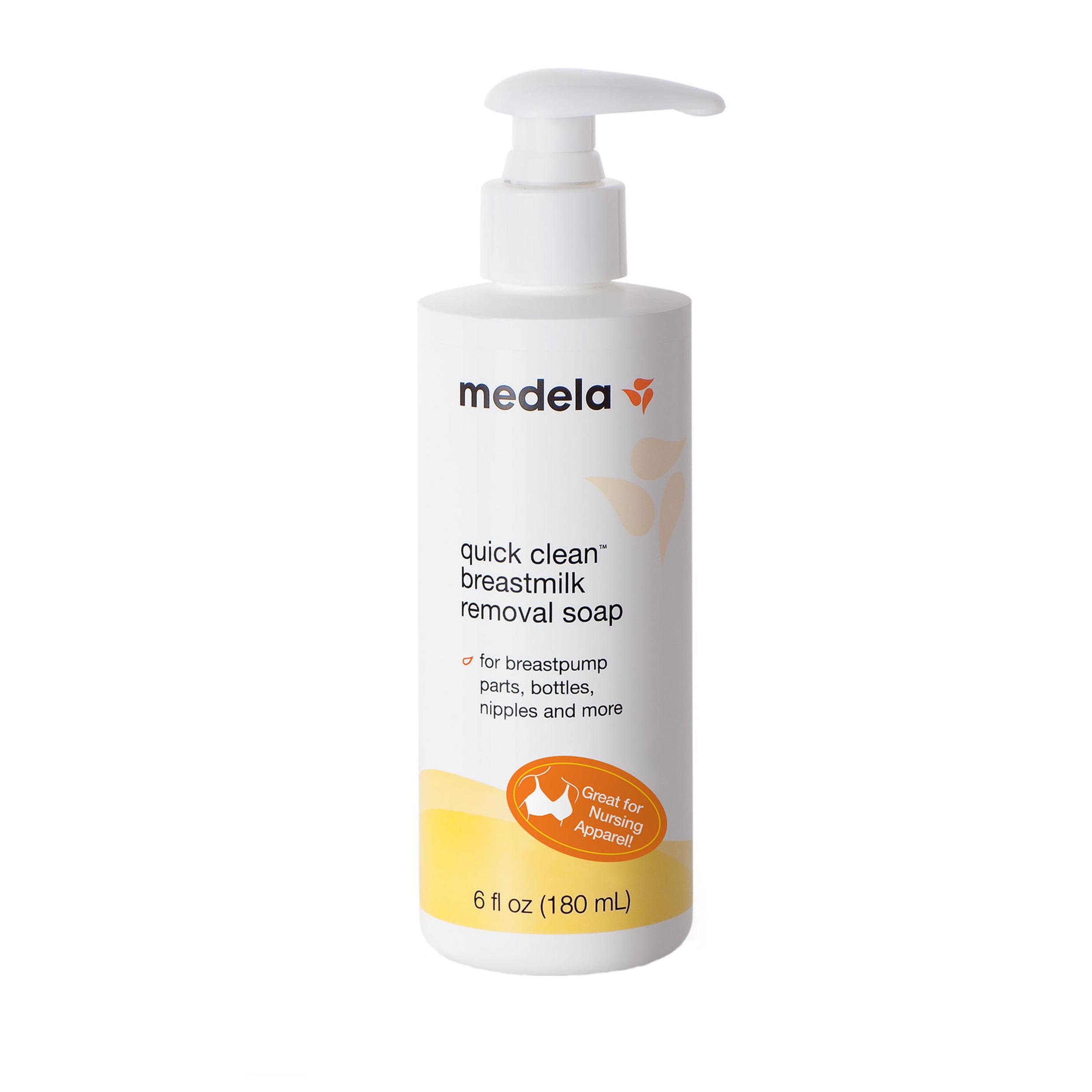 Medela Quick Clean Breastmilk Removal Soap, 6 fl oz