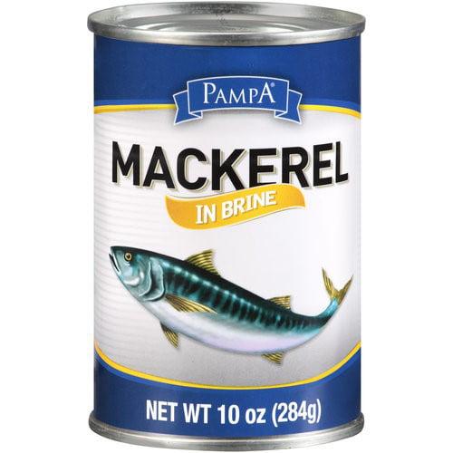 Pampa Mackerel, in Brine, 10 Oz by PAMPA