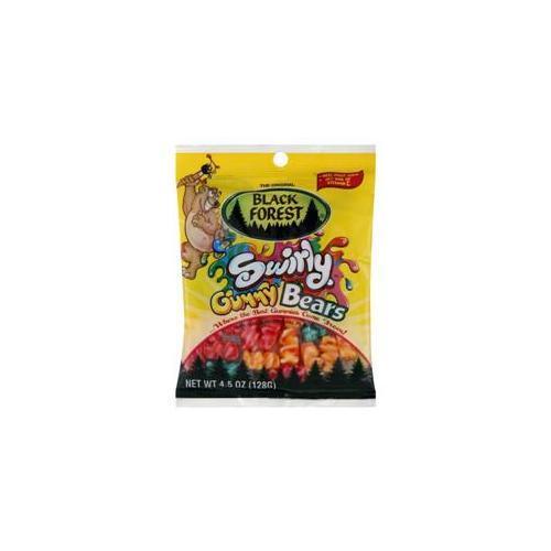 Black Forest Swirly Gummy Bears, 4. 5 oz, Pack of 12 by Ferrara Candy Company