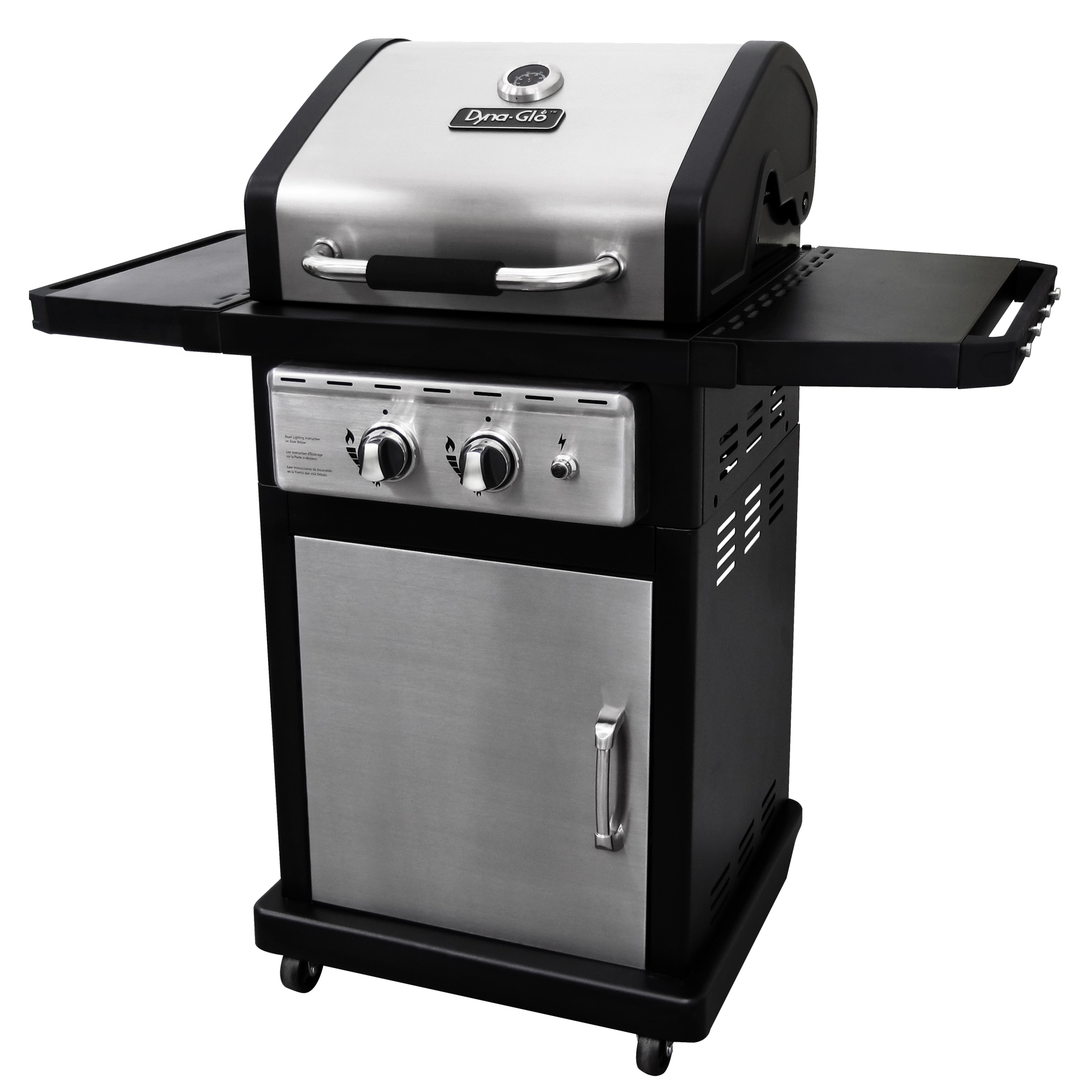 Dyna-Glo DGP350SNP-D Smart Space Living 2-Burner Stainless Steel Gas BBQ Gas Grill