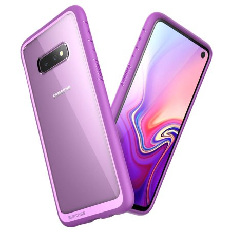 SUPCASE Unicorn Beetle Style Series Designed for Samsung Galaxy S10e Case 2019 Release PC and TPU Premium Hybrid Protective Clear Slim Fit Case (Best Cheap Pc Cases 2019)