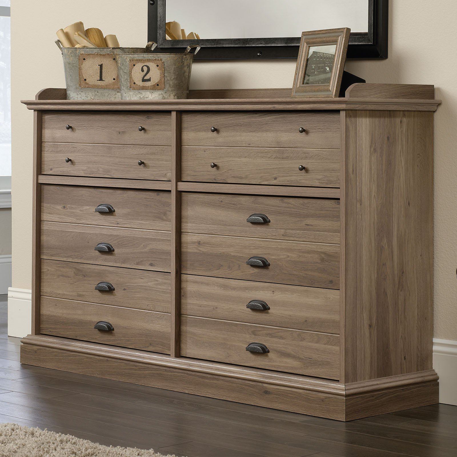 Sauder Barrister Lane 6 Drawer Dresser
