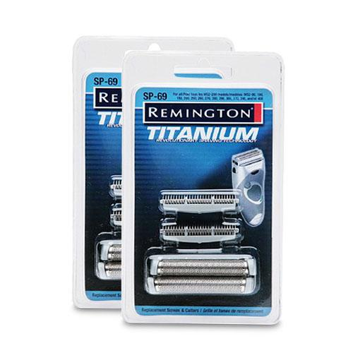 Remington SP69-2 (2 Pack) Microscreen Replacement Foil & Cutters