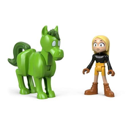 Imaginext Teen Titans Go! Beast Boy & Terra (Teen Titans Toy Beastboy)