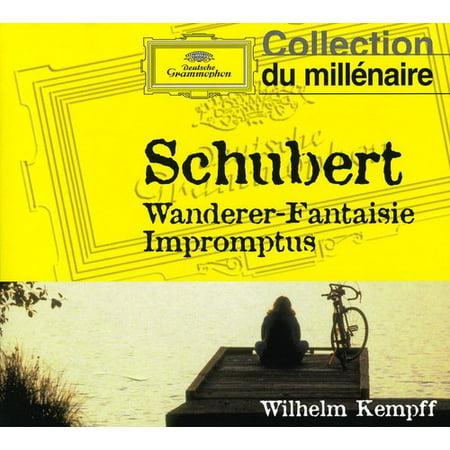 Schubert: Wanderer Fantasy Op 15 / 4 Impromptus (CD) (Schubert Op 90 No 4 Sheet Music)