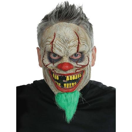 Villager News Halloween (Bad News Clown Mask Adult Halloween)