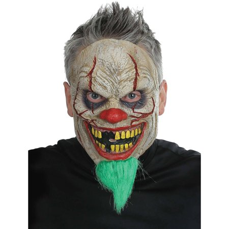 Bad News Clown Mask Adult Halloween Accessory