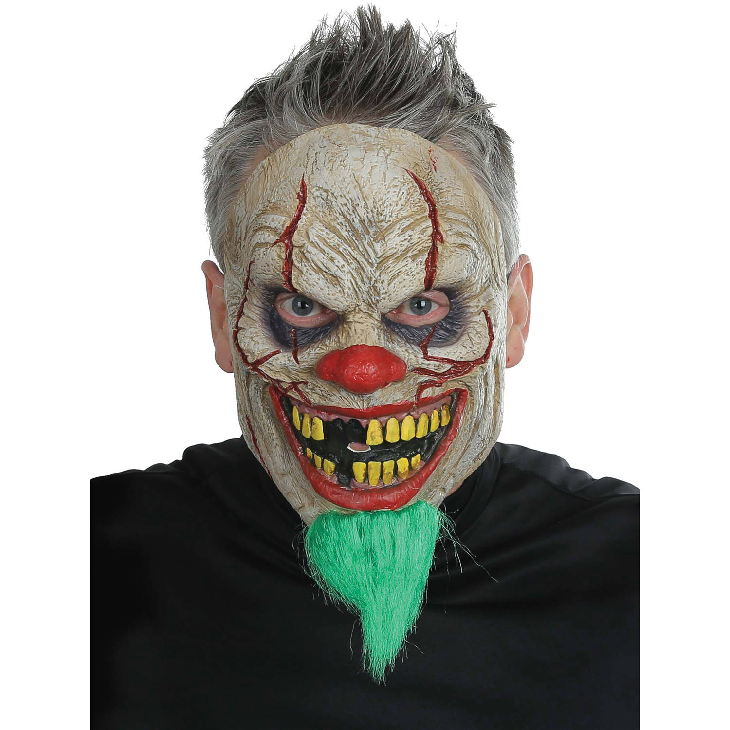 Bad News Clown Mask Adult Halloween Accessory