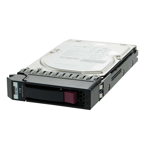 2TB HP P2000 SAS 7.2K RPM 6G 3.5 DISC PROD RPLCMNT PRT SEE NOTES