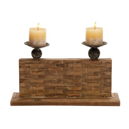 GwG Outlet Candle Holder with Vertical Rectangular Stand 54328 ()