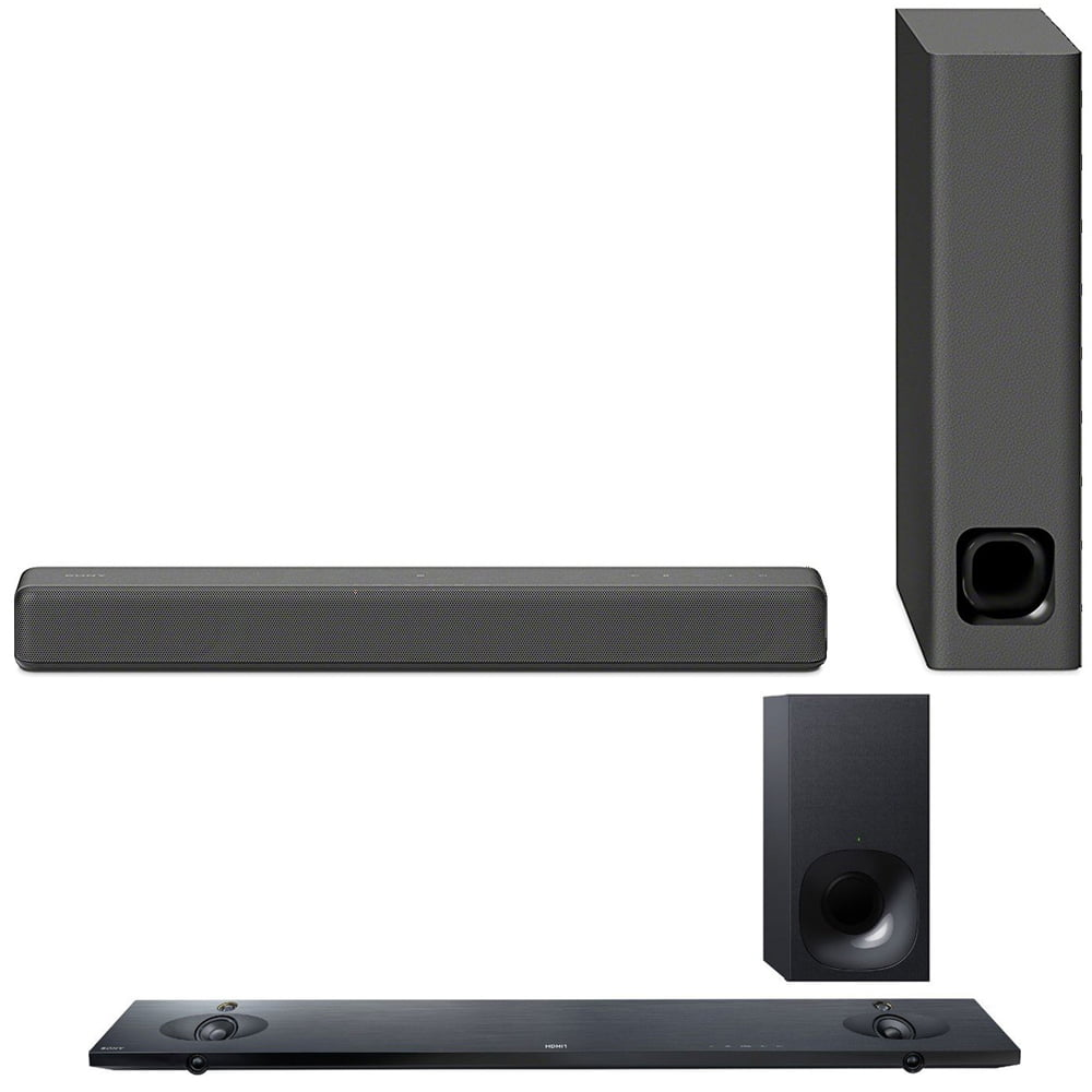 Sony Mini Sound bar with Wireless Subwoofer Black (HTMT300 B) with Sound Bar with Hi-Res... by Sony