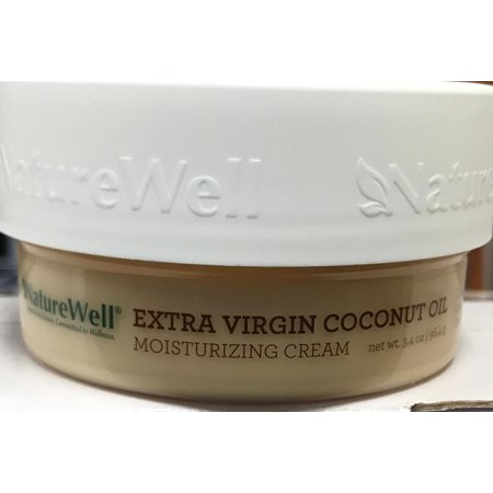 Nature Well Extra-Virgin Coconut Oil Moisturizing Cream (3.4 oz.)