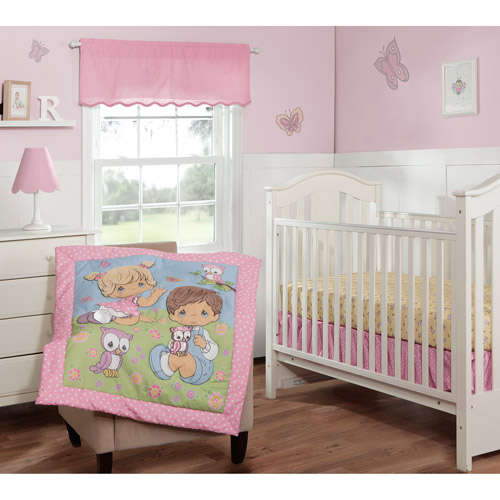 Precious Moments Crib Bedding 3-Piece Set