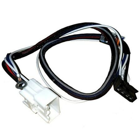 Brake Control Wiring Adapter - Tekonsha 3031-P Brake Control Wiring Adapter - 2-Plug, Toyota Tacoma 2015-2018