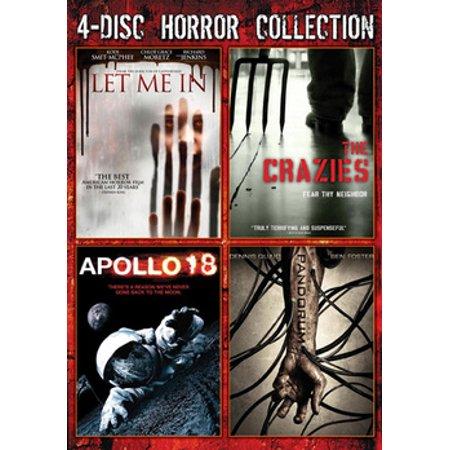 64125d4b926 4-Disc Horror Collection (DVD) - Walmart.com