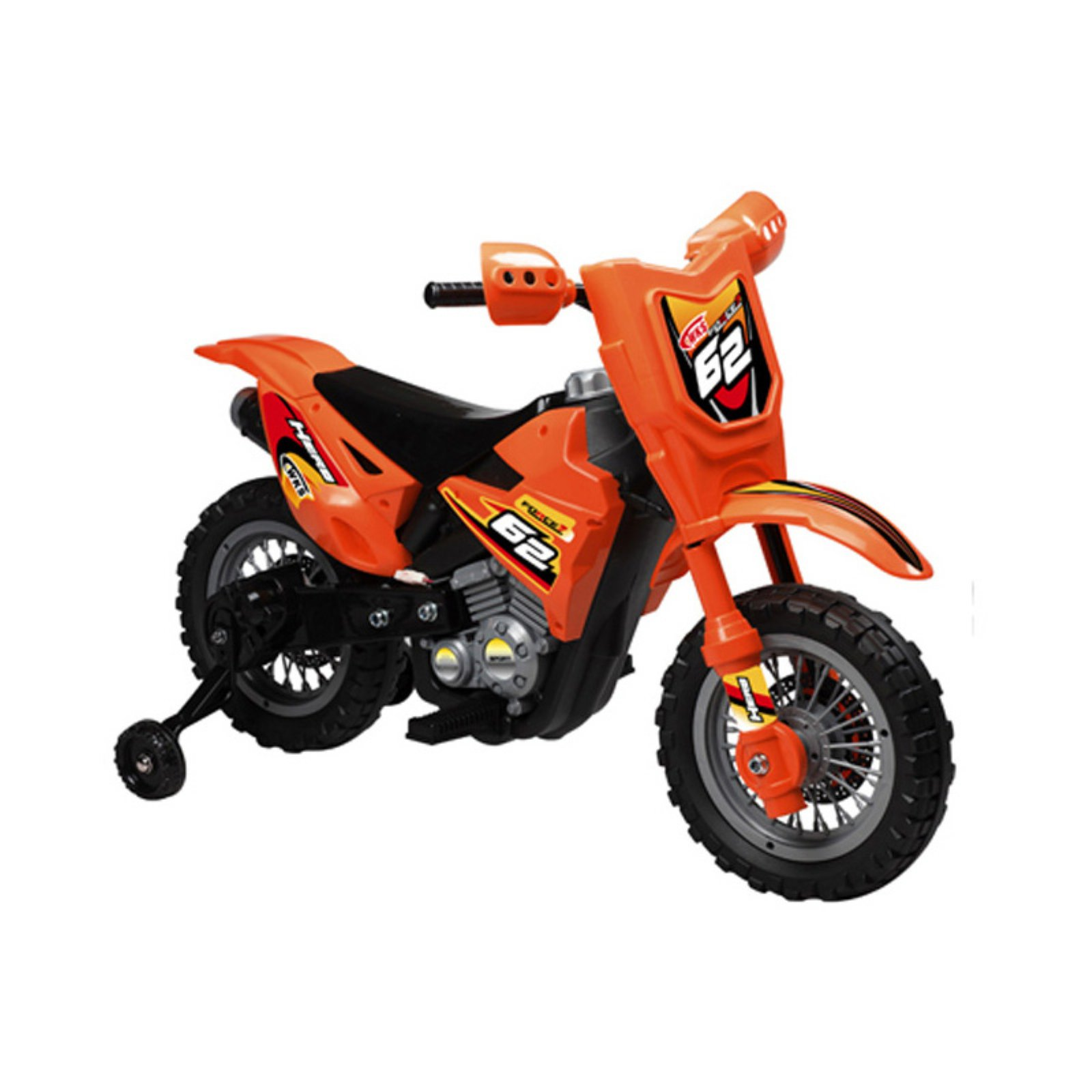 Vroom Rider Dirt Bike Motorcycle Battery Powered Riding Toy Red by Overstock