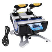 Tebru ST-210 Mug Heat Press, Double Stations Mug Heat Press ST-210 Sublimation Transfer Printing Machine (110V US Plug), Mug Heat Press