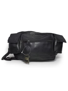 01397c3d6c Product Image Jumbo Fanny pack with 2 Side Pockets Genuine Leather by  Leatherboss