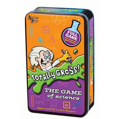 Totally Gross! Game Tin - Gross Food Halloween Games