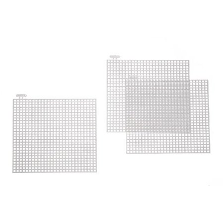 Plastic Canvas Square 4In 10Pc Pkg