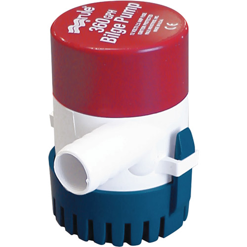 Rule Round Compact Non-Automatic Bilge Pump by Xylem