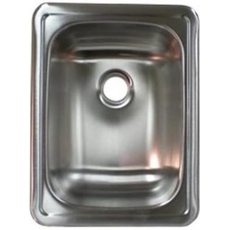 - LaSalle Bristol 13RSM1713LL Single Basin Stainless Steel Kitchen Sink