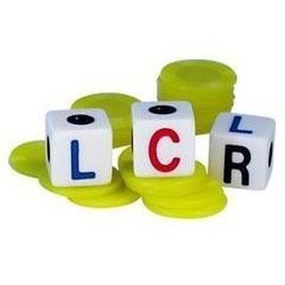 Lcr Left Right Center Dice Game - Walmart.com