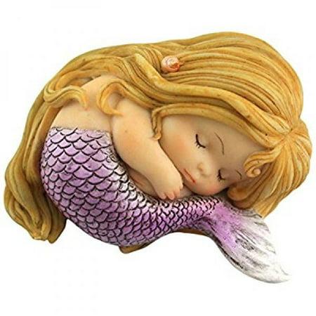 Top Collection Miniature Fairy Garden and Terrarium Sleeping Little Mermaid (Fairy Garden Terrarium)