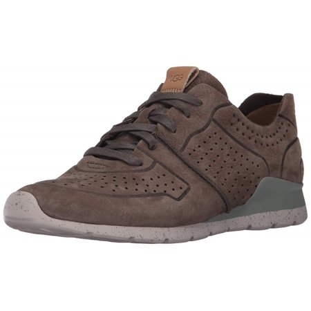 UGG Australia Womens Tye Leather Hight Top Lace Up Fashion Sneakers ()